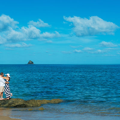 Karen and Daniel's Palm Cove engagement photos