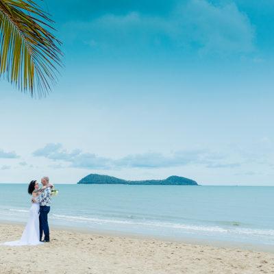 Kewarra Beach wedding