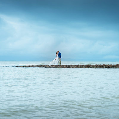 Port Douglas wedding photo