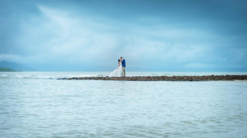 Port Douglas wedding photo