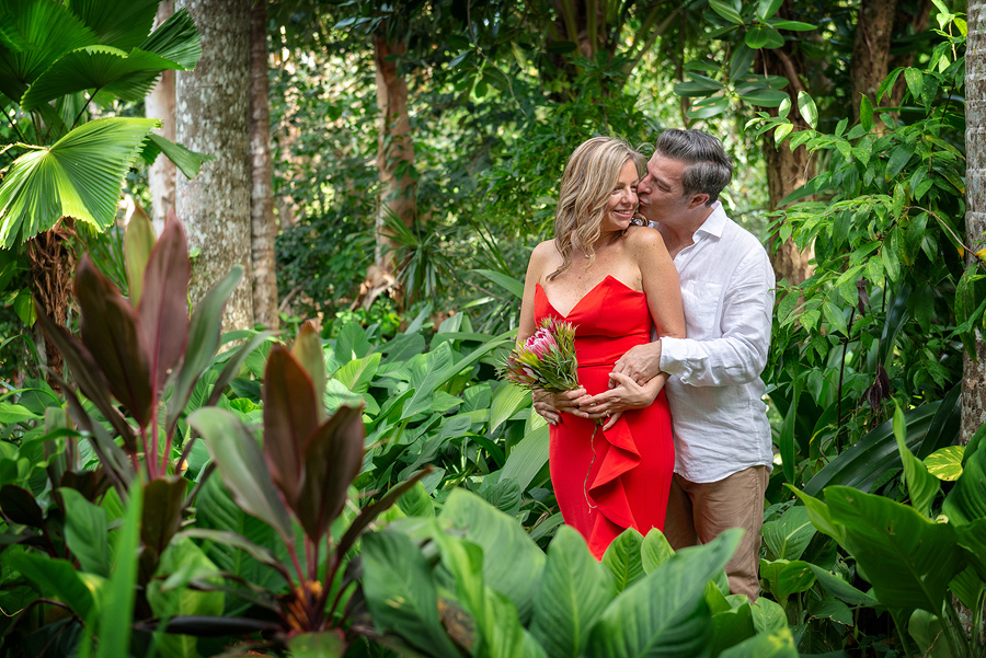 rainforest wedding photos