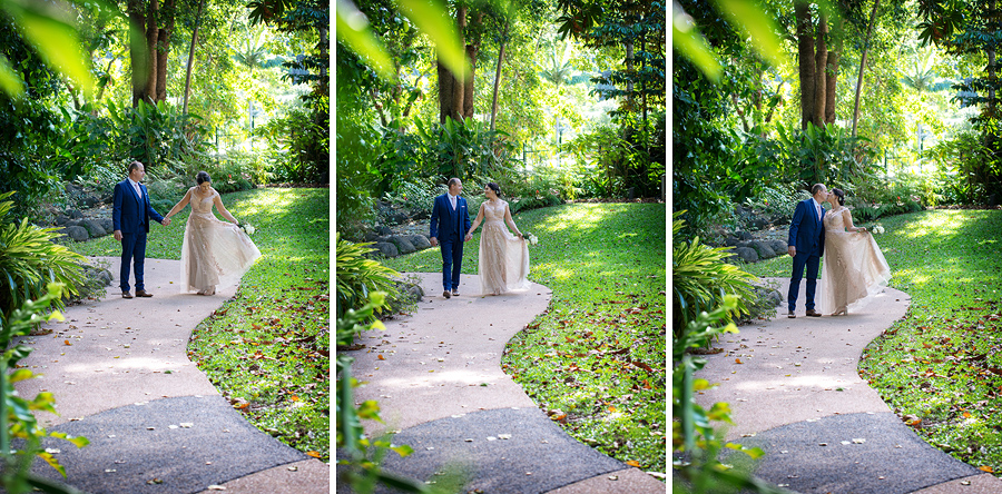 cairns garden wedding