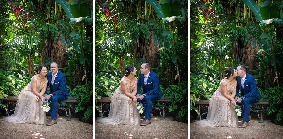 botanic gardens cairns wedding