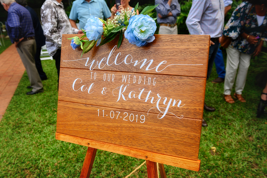 cairns wedding board
