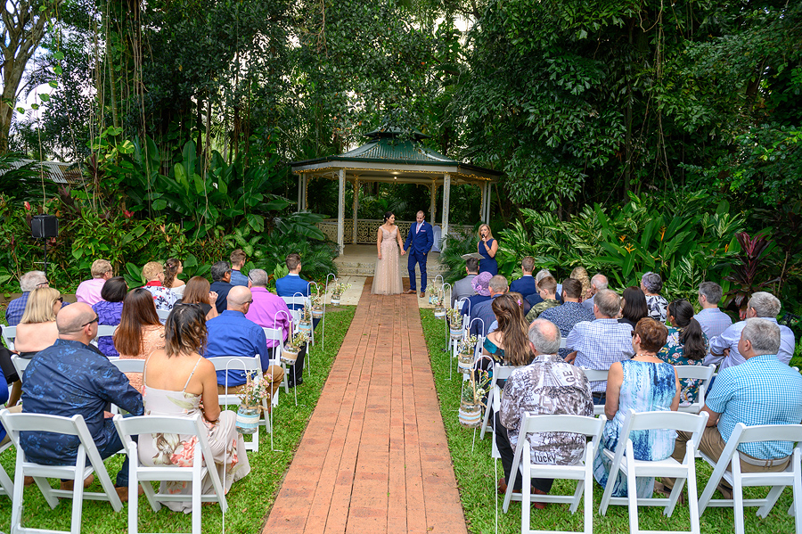 wedding in the rainforest