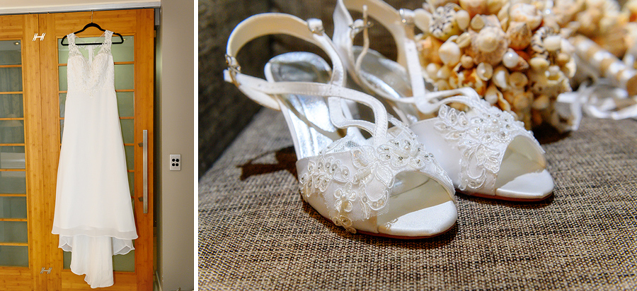 Fitzroy Island wedding shoes
