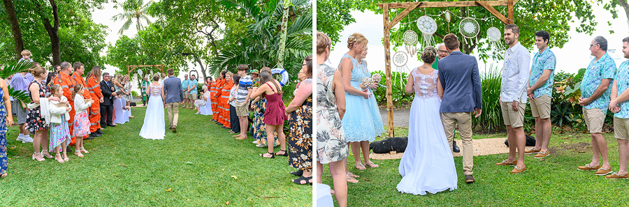 Fitzroy Island wedding vows