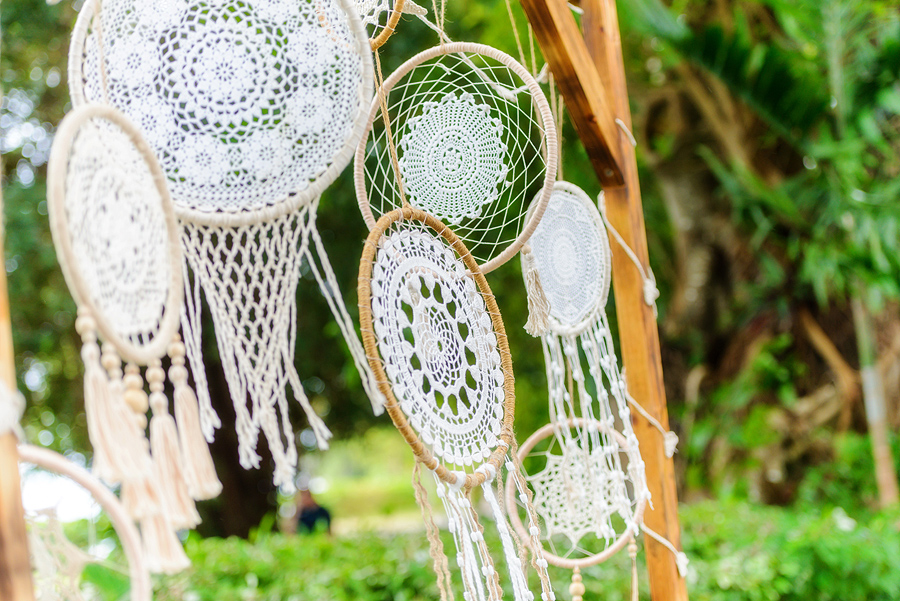 Fitzroy Island wedding decorations