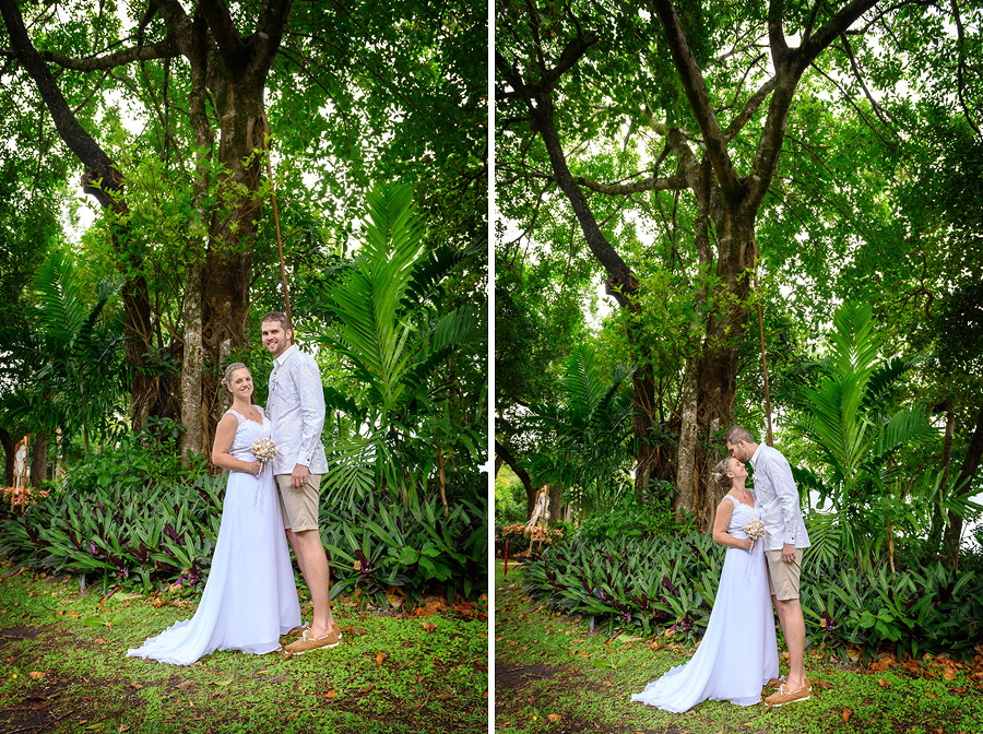 Fitzroy Island wedding photos