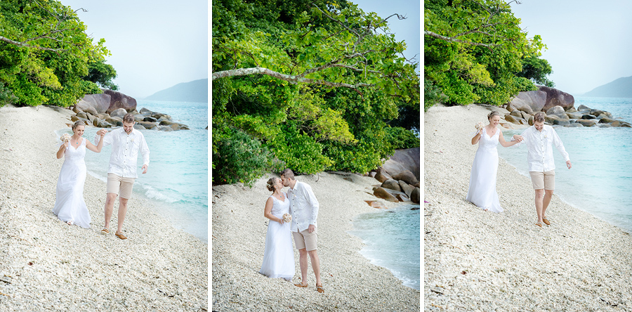 Fitzroy Island wedding photography