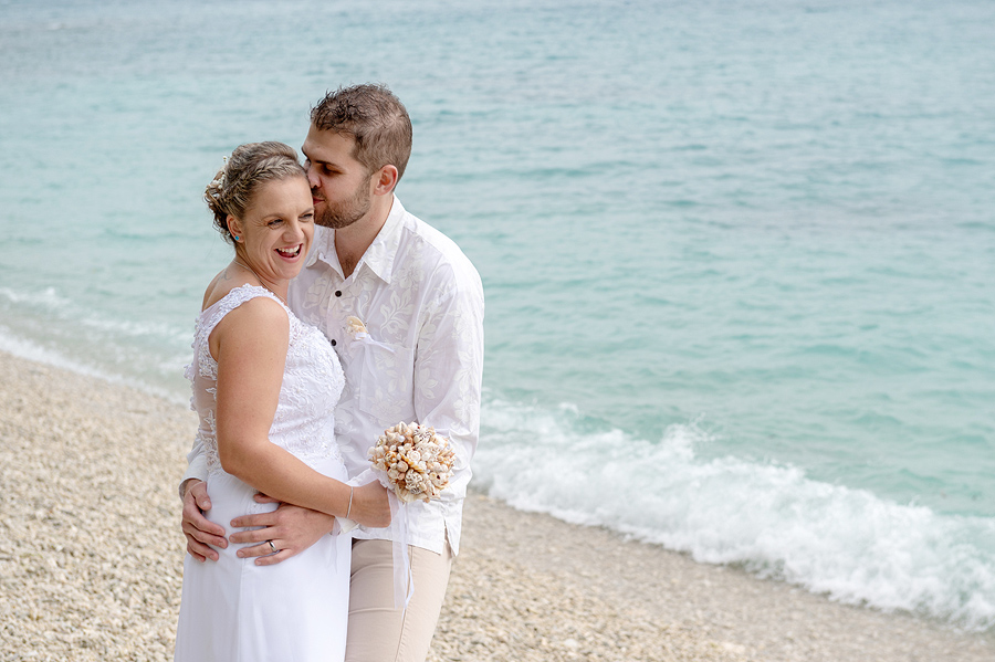 Fitzroy Island beach wedding