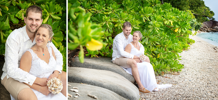 Fitzroy Island wedding photographer