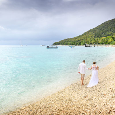 Lyndsy + Jesse Fitzroy Island Wedding Photography