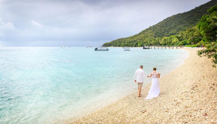 Lyndsy + Jesse Fitzroy Island Wedding Photography
