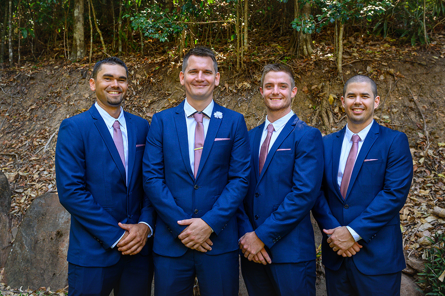 cairns wedding groomsmen