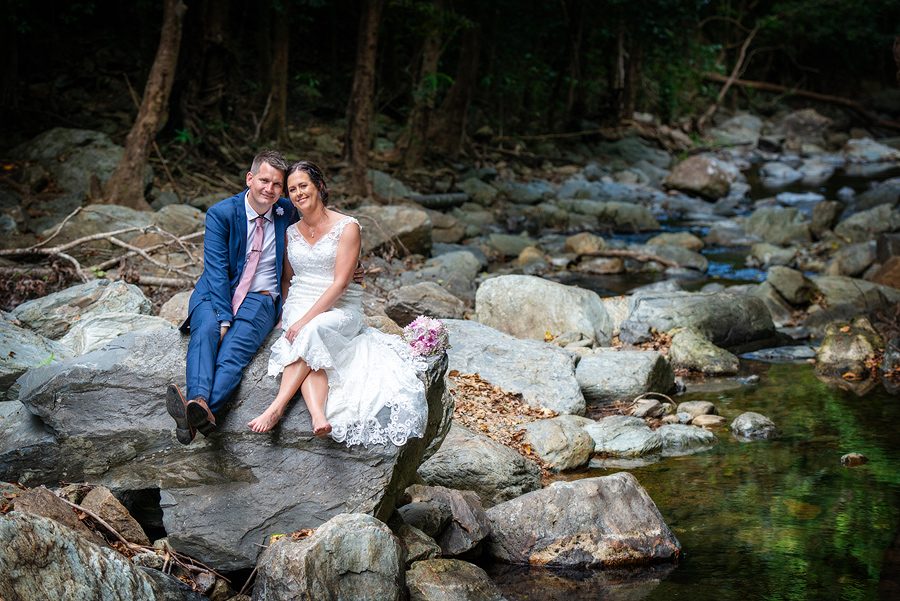 cairns rainforest wedding photography