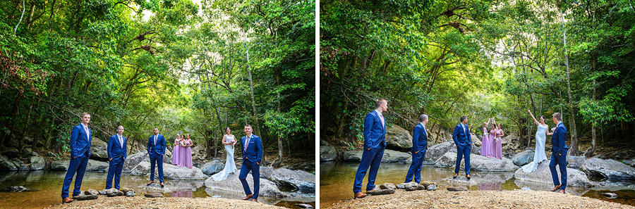 cairns wedding creek