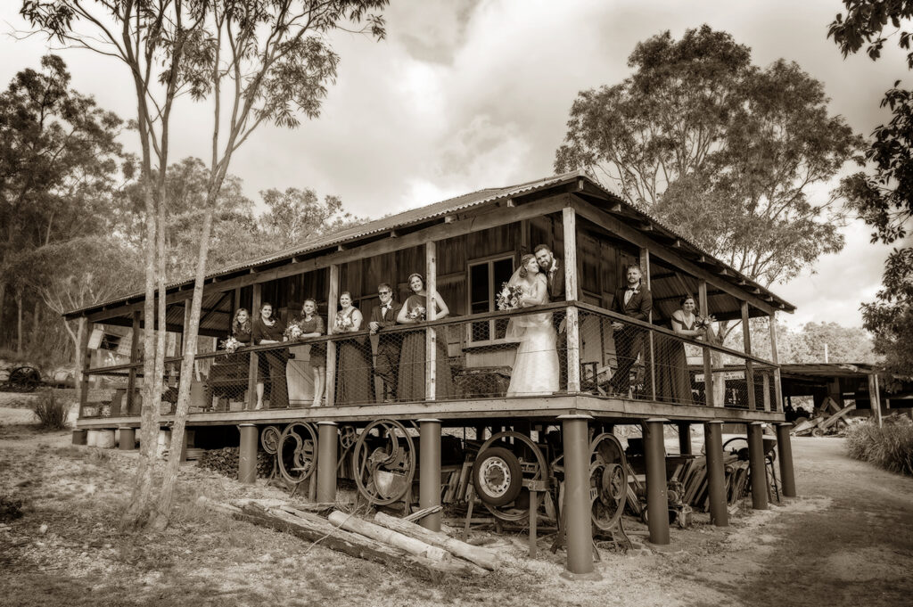 Herberton Historic Village wedding