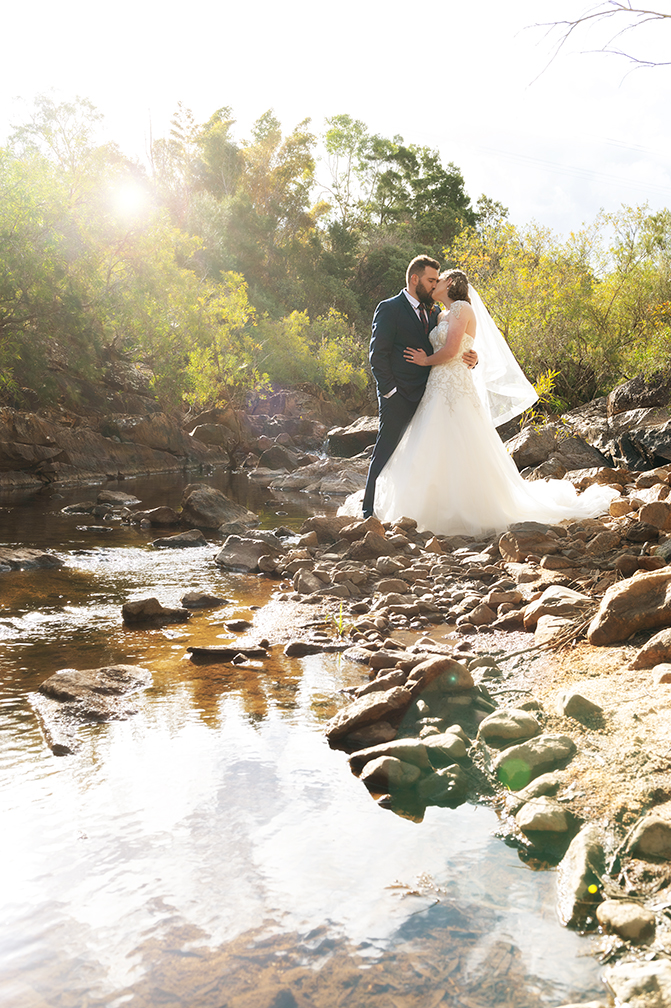 Wild River wedding photo