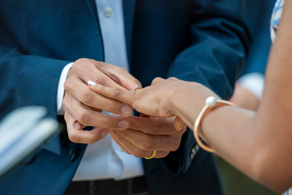 Palm Cove wedding rings