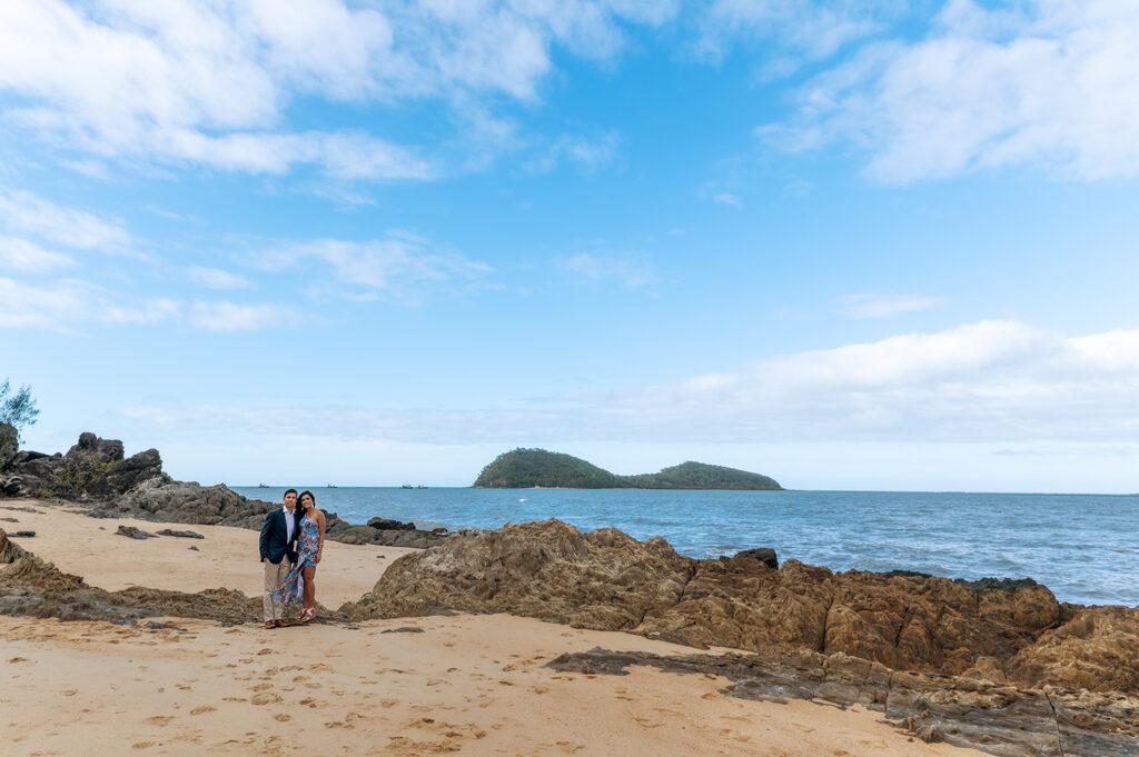 Palm Cove beach wedding photo