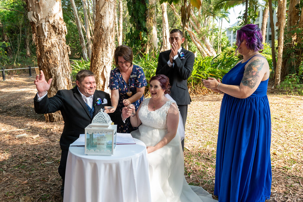 Offical Cairns wedding