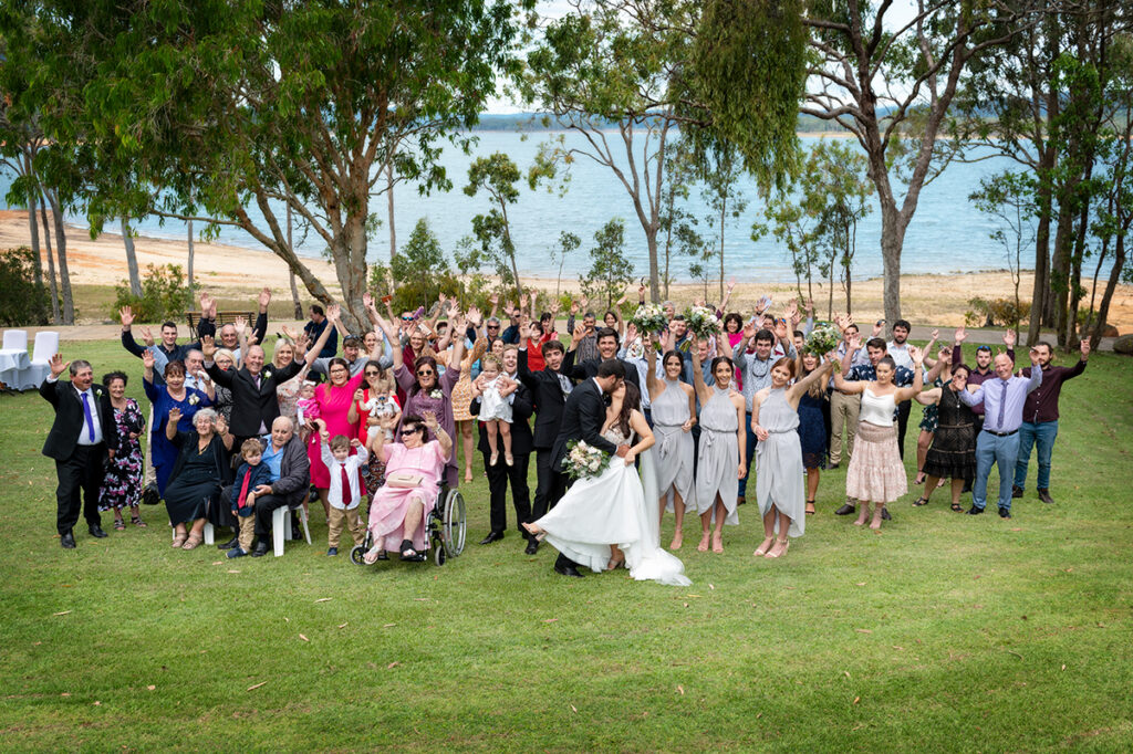 Lake Tinaroo wedding photography