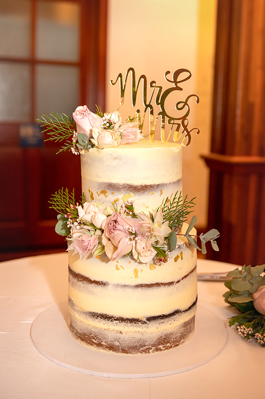 Atherton wedding cake