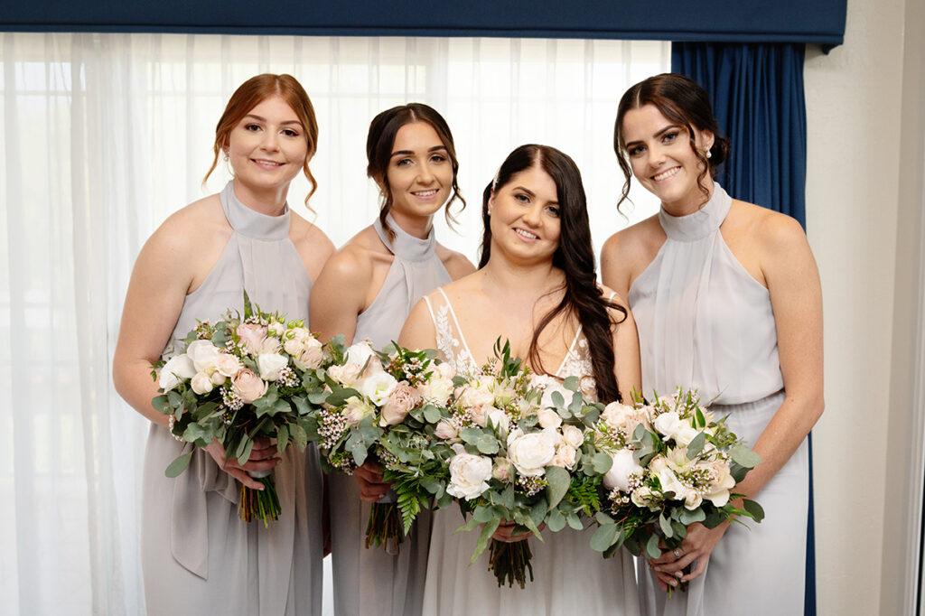 d bridesmaids Lake Tinaroo wedding