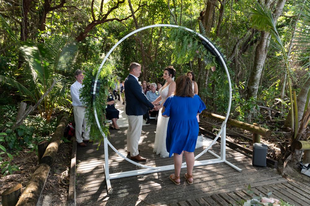 Port Douglas wedding ceremony