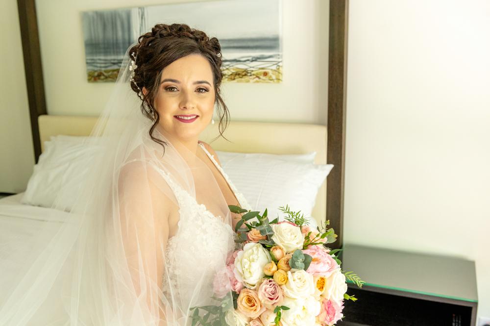 Port Douglas wedding bride